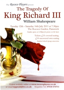 Richard III Flyer